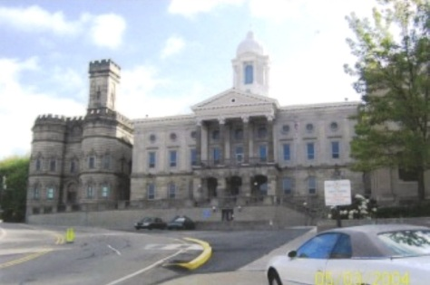 Kittanning Courthouse and Jail (c) Melanie Carlin 03 May 2004